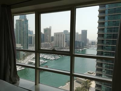 1 Bedroom Flat for Rent in Dubai Marina, Dubai - Chiller Free   Fully Furnished   Marina View   Higher Floor
