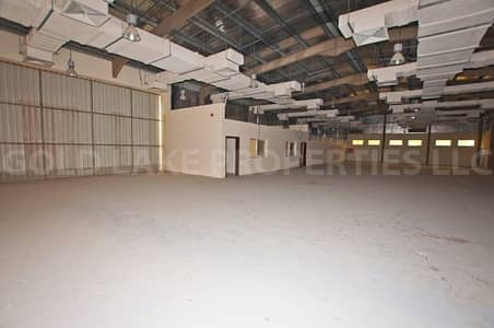 Amazing Deal! Huge Warehouse with Office