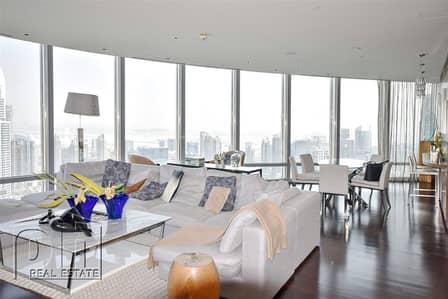 شقة 2 غرفة نوم للايجار في وسط مدينة دبي، دبي - Unbelievable 2bed  No Pillars  Full Views