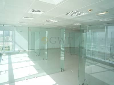 Office for Rent in Jumeirah Lake Towers (JLT), Dubai - Fitted Office IGlass Partitions IHigh Floor