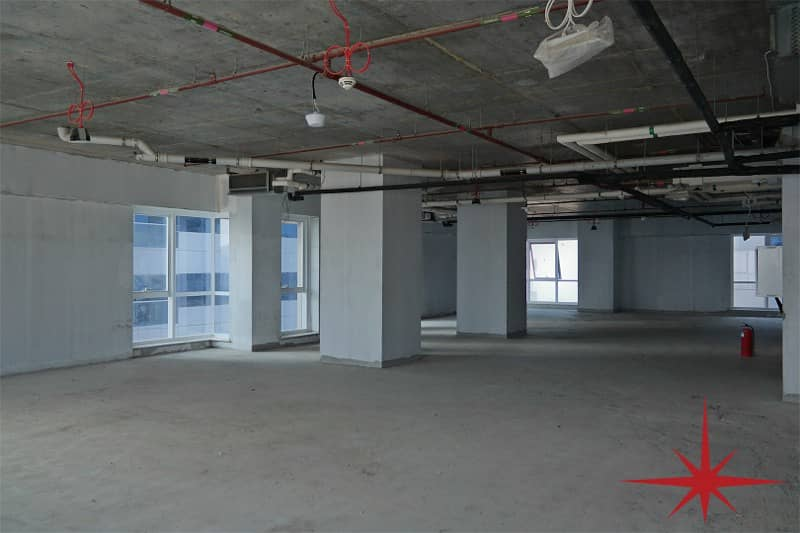 Shell and Core| Latifa Tower| 55 PSF | SZR View