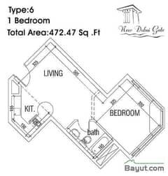 Type 06 1 Bedroom