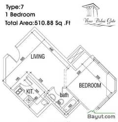 Type 07 1 Bedroom