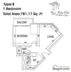 Type 08 1 Bedroom
