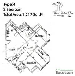 Type 04 2 Bedroom