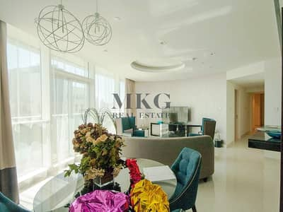 2 Bedroom Apartment for Rent in Downtown Dubai, Dubai - Modern Design Furnished 2BR Flexible Cheque