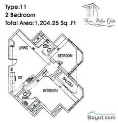 Type 11 2 Bedroom