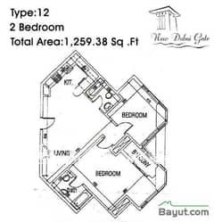 Type 12 2 Bedroom