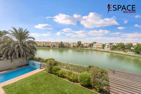 4 Bedroom Villa for Rent in The Meadows, Dubai - Upgraded - Full Lake View - Private Pool