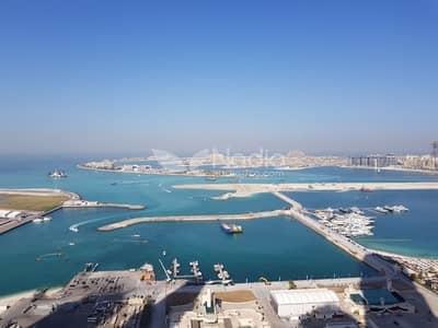 3 Bedroom Apartment for Sale in Dubai Marina, Dubai - Beautiful Sea and Palm View