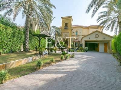 4 Bedroom Villa for Rent in Jumeirah Islands, Dubai - Large Corner Plot|4 BR Venetian Style