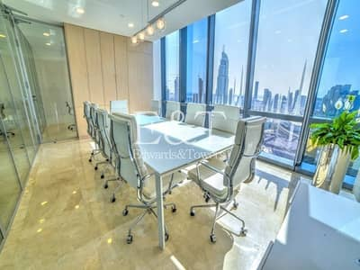 Office for Sale in Downtown Dubai, Dubai - High-end Office Unit Burj Khalifa view