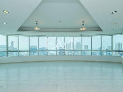 4 Bedroom Apartment for Rent in Dubai Marina, Dubai - Full Marina view! Brand New | High Floor