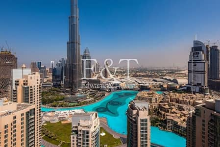 Penthouse level - Full Burj Khalifa view