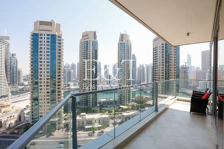 3 Bedroom Apartment for Sale in Dubai Marina, Dubai - Full Marina View | Spacious | Huge Balcony