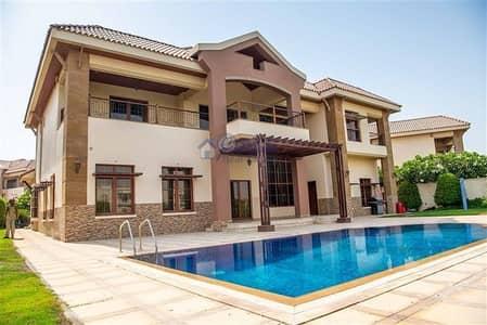 فیلا 5 غرفة نوم للبيع في جزر جميرا، دبي - Luxurious 5 bedroom Mansion Villa for rent in Jumeirah Islands