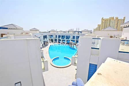 4 Bedroom Villa for Sale in Palm Jumeirah, Dubai - VOT Palm Townhouse with Roof Top Terrace