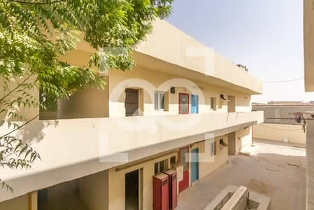 Labour Camp for Rent in Al Saja, Sharjah - Very Cheap Labor Camp 120 Rooms for Rent in Al-Sajah Sharjah