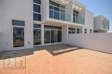 3 Bedroom Villa for Sale in Mudon, Dubai - Backing Recreational Park - Middle Unit.