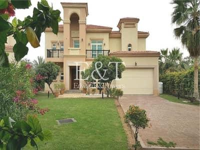 4 Bedroom Villa for Rent in Jumeirah Islands, Dubai - Spacious 4 BR+M | Entertainment Foyer
