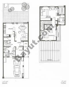 2 Bed-Villa-Middle-unit-(1st,Ground)