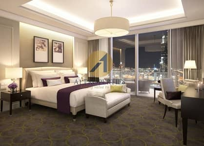 Luxurious 1BR facing Burj and Fountain
