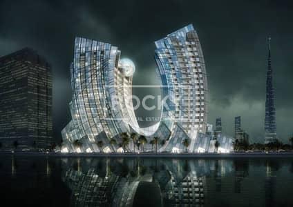 4 BR   Stylish U-Shaped Tower on Dubai Canal next to Downtown Dubai