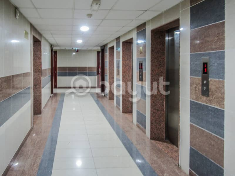 2 Bedroom. AED 40000 yearly!! free Parking ,half month Free