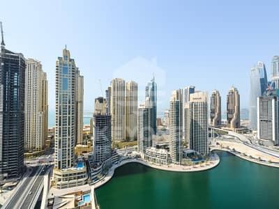 4 Bedroom Apartment for Sale in Dubai Marina, Dubai - Spacious Penthouse with Full Marina View
