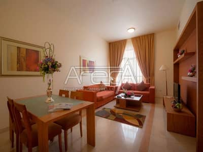 2 Bedroom Apartment for Rent in Al Najda Street, Abu Dhabi - Fully Furnished 2 Bed Apt Full Facilities, Parking! Al Najda Street