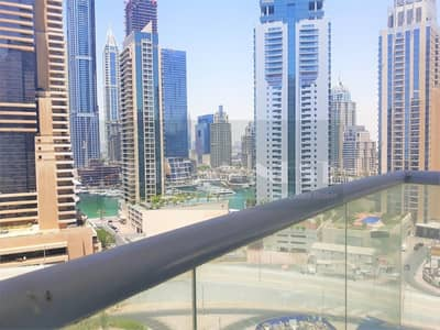 1 Bedroom Apartment for Rent in Dubai Marina, Dubai - 1 BED with Marina Views in Skyview Tower