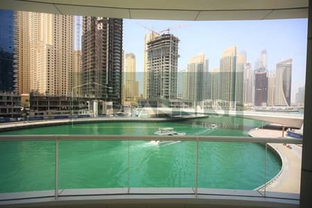 Large 2BR Full Marina View Best Location
