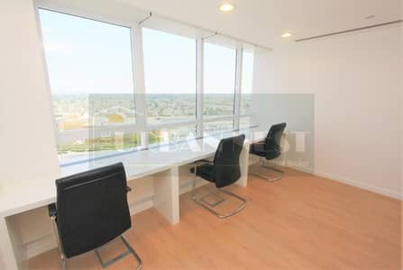 Office for Rent in Jumeirah Lake Towers (JLT), Dubai - Fitted and Furnished Office