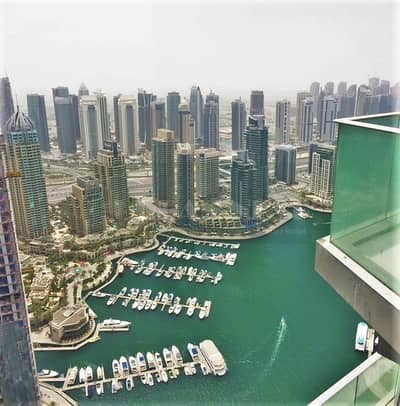 3 Bedroom Apartment for Rent in Dubai Marina, Dubai - Fendi Casa | 3 BR with Maids | Sea Views