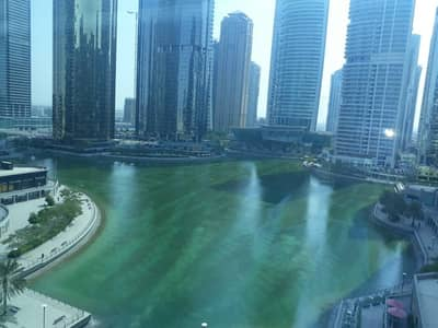 Office for Rent in Jumeirah Lake Towers (JLT), Dubai - Spacious Fitted Office in Indigo Icon JLT