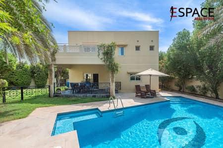 4 Bedroom Villa for Sale in The Meadows, Dubai - Type 2 Villa |Large Garden |Private Pool