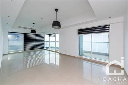 3 Bedroom Flat for Rent in Dubai Marina, Dubai - Unique 3BR + maids// Breathtaking sea view