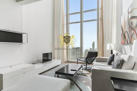 1 Bed+Study - 1380sqft (Duplex/Loft) Movenpick Laguna Tower JLT @1.225m