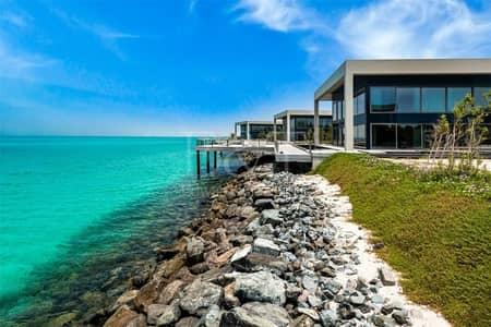 4 Bedroom Villa for Sale in Nurai Island, Abu Dhabi - Remarkable Water Villa 4Bd+Private Pool