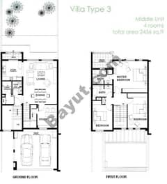 3 Bedroom - Middle Unit (3M)