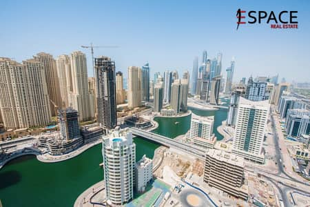 2 Bedroom Apartment for Sale in Dubai Marina, Dubai - Full Marina View Vacant and Furnished