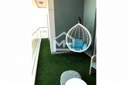 2 Bedroom Apartment for Rent in Al Reem Island, Abu Dhabi - Vacant 2 + M with Balcony in Amaya Tower
