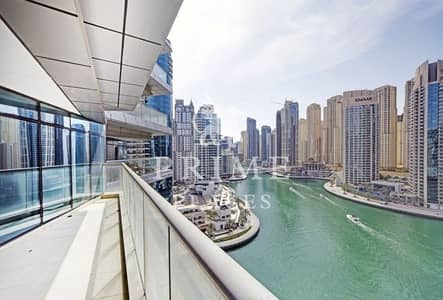 3 Bedroom Apartment for Sale in Dubai Marina, Dubai - Vacant 3 + study with full Marina view !