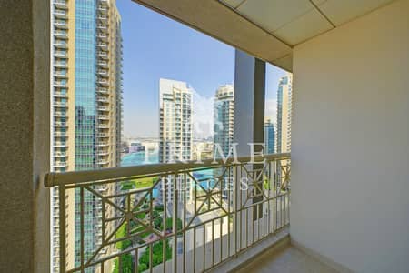 2 Bedroom Flat for Rent in Downtown Dubai, Dubai - High Floor - Lake View - Genuine Pictures
