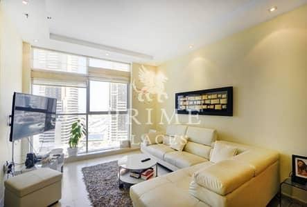 2 Bedroom Flat for Sale in Dubai Marina, Dubai - Vacant on transfer|Huge apt with sea view