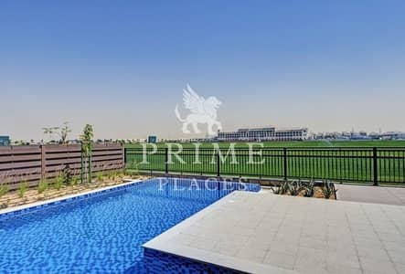 5 Bedroom Villa for Rent in Dubailand, Dubai - OPEN HOUSE SATURDAY 11PM TO 4PM   Overlooking polo field 5 beds with pool
