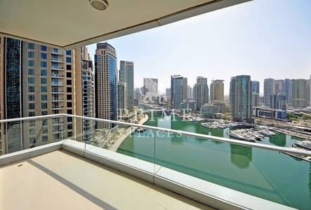 3 Bedroom Apartment for Rent in Dubai Marina, Dubai - Upgraded|Larger layout with stunning view