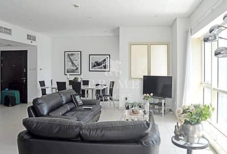 2 Bedroom Apartment for Sale in Dubai Marina, Dubai - Spacious Reception * Large balcony * views