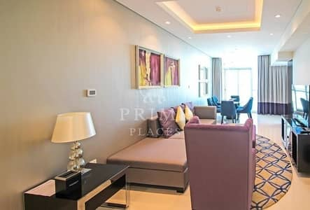 3 Bedroom Apartment for Rent in Downtown Dubai, Dubai - Keys with me| Furnished| Full BurjK View
