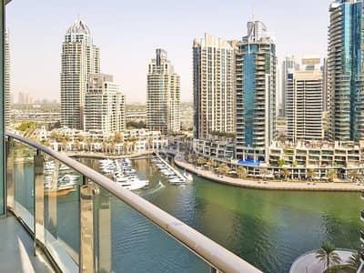 2 Bedroom Flat for Rent in Dubai Marina, Dubai - Very Spacious * Good views * Maids room *